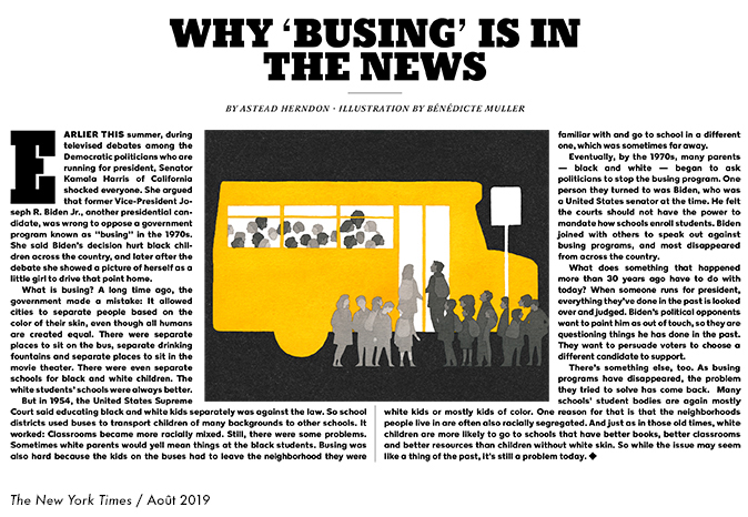 Why busing is in the news
