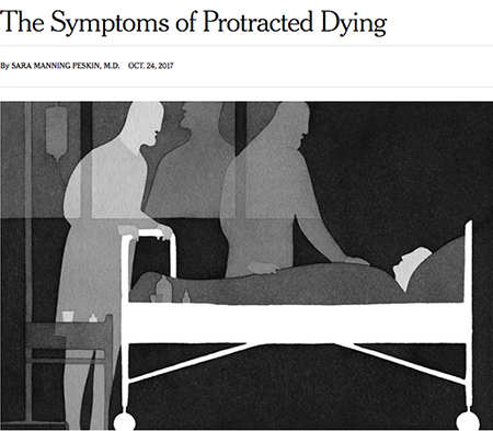 protracted dying